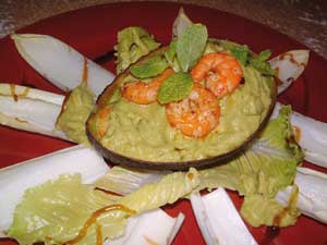 Avocado-Gambas